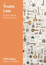 Trusts Law cover