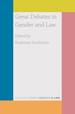 Great Debates in Gender and Law cover