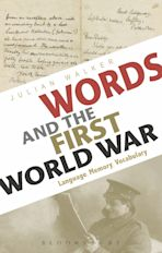 Words and the First World War cover