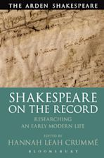 Shakespeare  on the Record cover