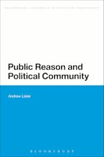Public Reason and Political Community cover