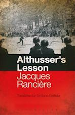 Althusser's Lesson cover