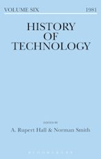 History of Technology Volume 6 cover