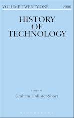 History of Technology Volume 21 cover