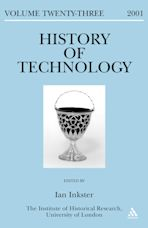 History of Technology Volume 23 cover