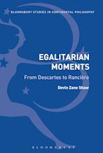 Egalitarian Moments: From Descartes to Rancière cover