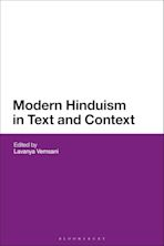 Modern Hinduism in Text and Context cover