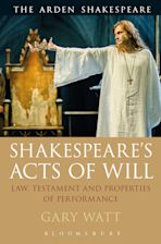 Shakespeare's Acts of Will cover