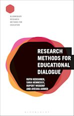 Research Methods for Educational Dialogue cover
