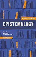 Epistemology: The Key Thinkers cover