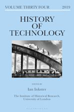 History of Technology Volume 34 cover