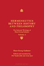 Hermeneutics between History and Philosophy cover