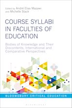 Course Syllabi in Faculties of Education cover