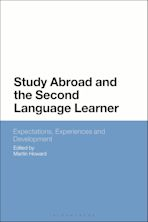 Study Abroad and the Second Language Learner cover
