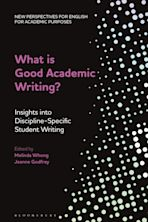 What is Good Academic Writing? cover