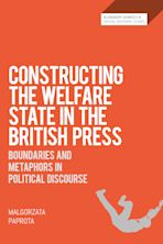 Constructing the Welfare State in the British Press cover