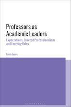 Professors as Academic Leaders cover