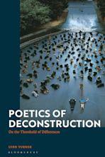 Poetics of Deconstruction cover