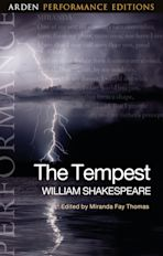 The Tempest: Arden Performance Editions cover