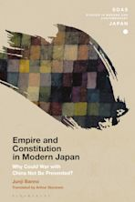 Empire and Constitution in Modern Japan cover