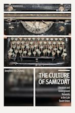 The Culture of Samizdat cover
