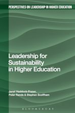 Leadership for Sustainability in Higher Education cover
