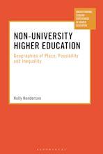 Non-University Higher Education cover