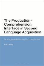 The Production-Comprehension Interface in Second Language Acquisition cover