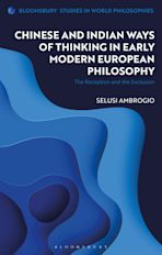Chinese and Indian Ways of Thinking in Early Modern European Philosophy cover