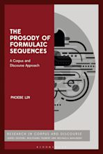 The Prosody of Formulaic Sequences cover