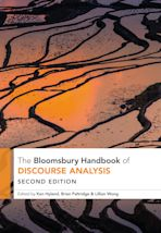 The Bloomsbury Handbook of Discourse Analysis cover