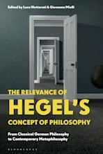 The Relevance of Hegel's Concept of Philosophy cover