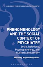 Phenomenology and the Social Context of Psychiatry cover