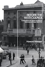 Before the Arts Council cover
