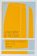 A Philosophy of the Essay cover