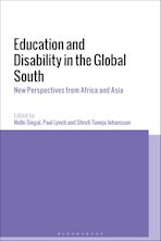 Education and Disability in the Global South cover
