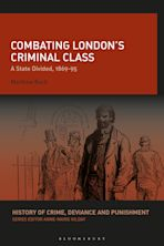 Combating London's Criminal Class cover
