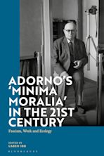 Adorno's 'Minima Moralia' in the 21st Century cover