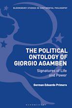 The Political Ontology of Giorgio Agamben cover