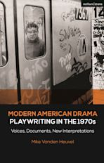 Modern American Drama: Playwriting in the 1970s cover
