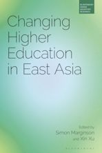 Changing Higher Education in East Asia cover
