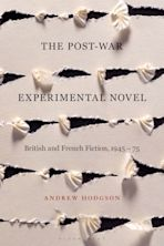 The Post-War Experimental Novel cover