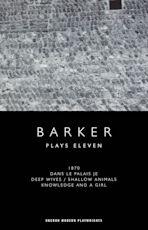 Howard Barker: Plays Eleven cover
