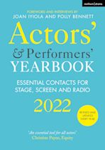 Actors' and Performers' Yearbook 2022 cover