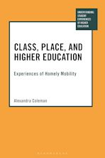 Class, Place, and Higher Education cover