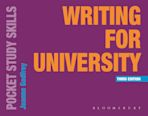 Writing for University cover