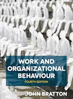 Work and Organizational Behaviour cover