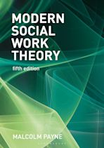 Modern Social Work Theory cover