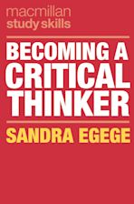 Becoming a Critical Thinker cover