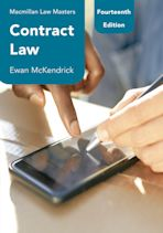Contract Law cover
